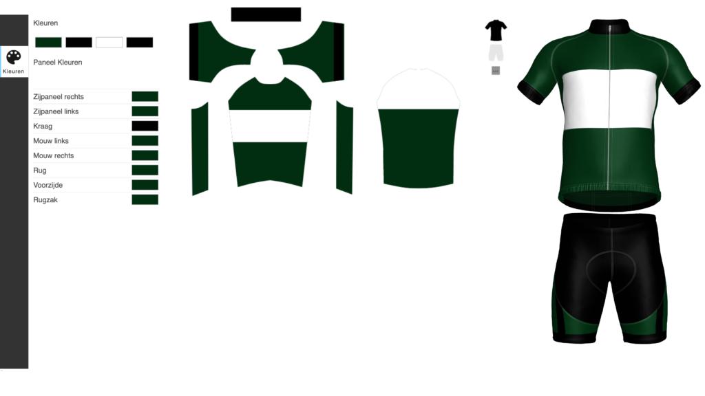 Fietskledij ontwerpen stap 2